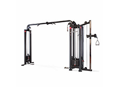 4 Station multi Gym + cable Station with bar