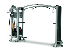 4-Station multi Gym + cable Station with bar